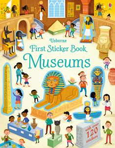 FIRST STICKER BOOK: MUSEUMS