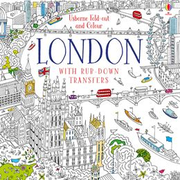 USBORNE FOLD OUT AND COLOUR LONDON