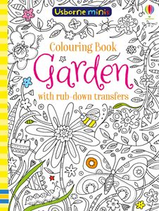 USBORNE MINIS: COLOURING BOOK GARDEN