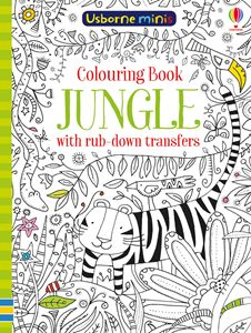 USBORNE MINIS: COLOURING BOOK JUNGLE