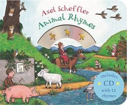 MOTHER GOOSES ANIMAL RHYMES (BOARD WITH CD)