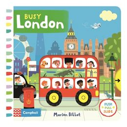 BUSY LONDON (PUSH PULL SLIDE)