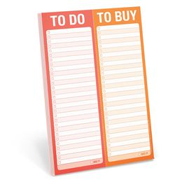 TO DO TO BUY (PERFORATED PAD)