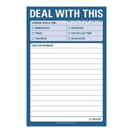 DEAL WITH THIS LARGE STICKY NOTES