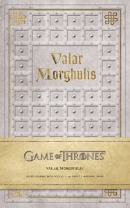 GAME OF THRONES: VALAR MORGULIS HARDCOVER RULED JOURNAL