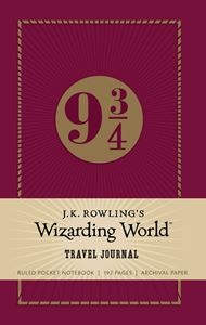 JK ROWLINGS WIZARDING WORLD TRAVEL JOURNAL NOTEBOOK