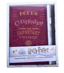 HARRY POTTER HERMIONE HARDCOVER RULED JOURNAL/WAND PEN