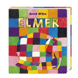 ELMER (BOARD BOOK) (NEW)