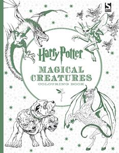 HARRY POTTER MAGICAL CREATURES COLOURING BOOK (STUDIO PRESS)