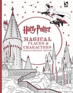 HARRY POTTER MAGICAL PLACES/CHARACTERS COLOURING BK (STUDIO)