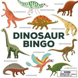 DINOSAUR BINGO FOR KIDS
