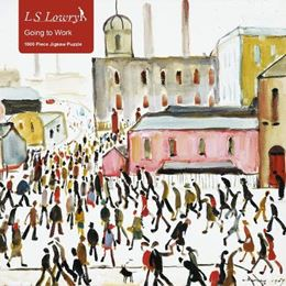 L S LOWRY GOING TO WORK 1000 PIECE JIGSAW PUZZLE