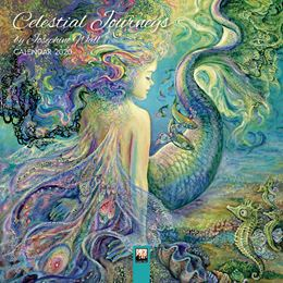CELESTIAL JOURNEYS BY JOSEPHINE WALL 2020 MINI CALENDAR