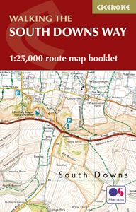 WALKING THE SOUTH DOWNS WAY MAP BOOKLET