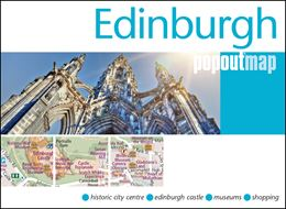 EDINBURGH POPOUT MAP (OLD)