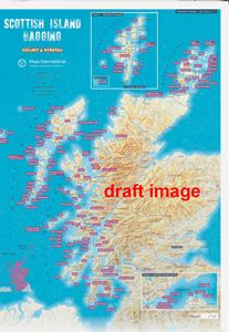 SCOTTISH ISLAND BAGGING COLLECT AND SCRATCH (PRINT / MAP)