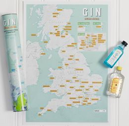 GIN COLLECT AND SCRATCH (PRINT/MAP)
