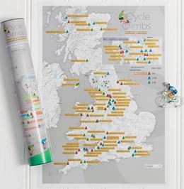 CYCLE CLIMBS COLLECT AND SCRATCH (PRINT/MAP)